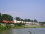 BNSF 5885 On NS 216 Westbound