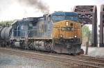 CSX 588 & HLCX 7190