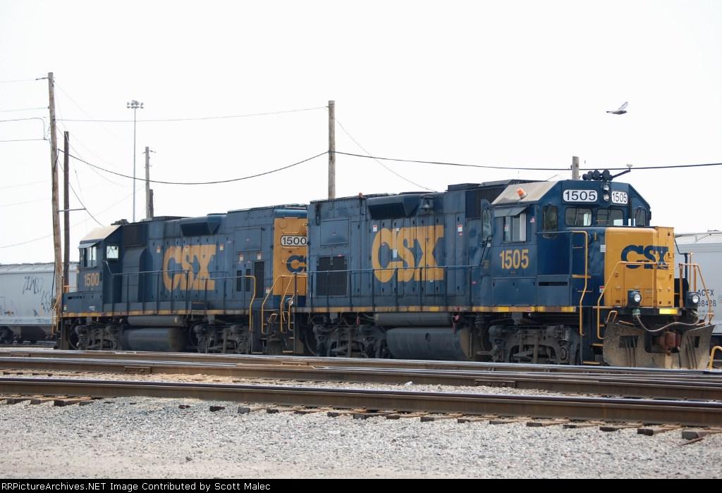 CSX 1505 & 1500
