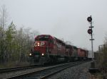 Eastbound CPRail train on Reading & Northern trackage (exCNJ)