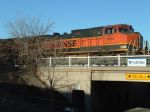 BNSF 1004 C44-9W above underpass