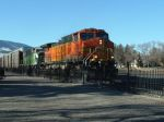 BNSF 5120 passing the depot