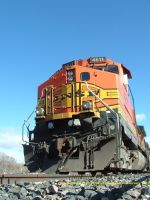 BNSF 4811 prepared for the track ahead