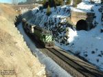 BNSF 6775 passing the old Bozeman Tunnel