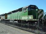 BNSF 8083 SD40-2