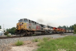 KCS 4592 leading souyhbound TXUX coal train