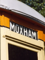 Moxham destination roll sign on Johnstown Traction Co car #356