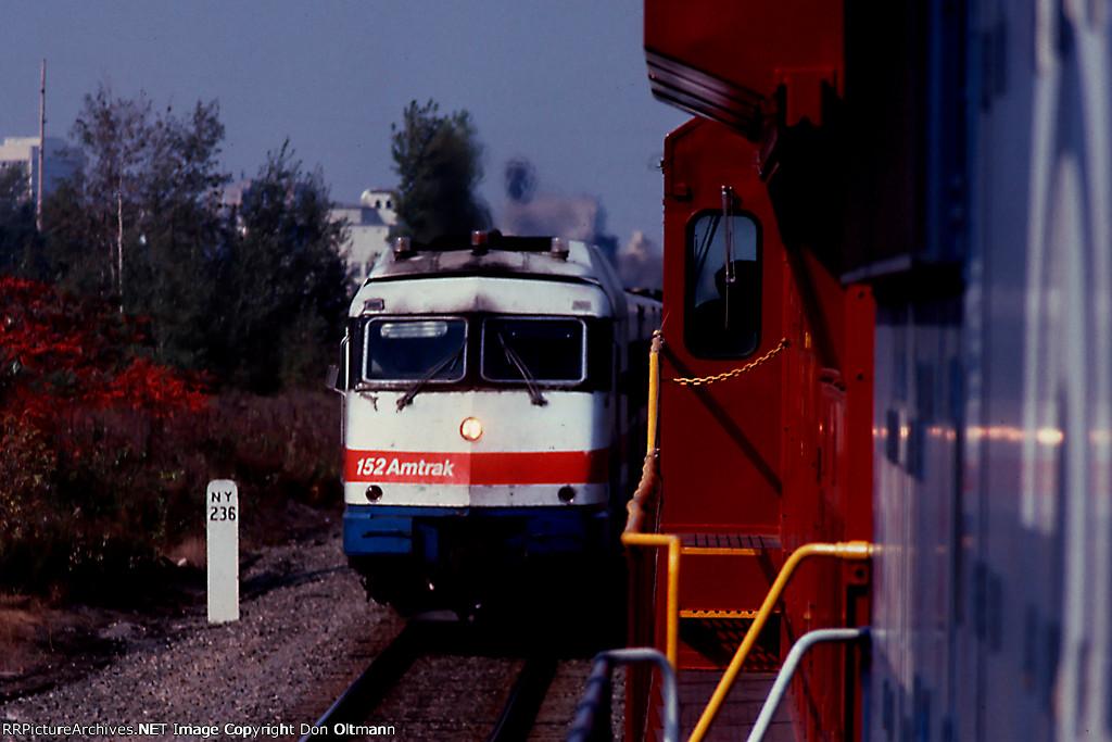 GE 808 meets AMTK 152