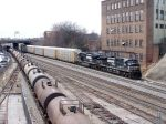 CSX diverges for the east while NS waits for crew