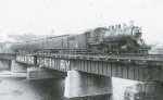 Mpls MN depot bridge in 1943.