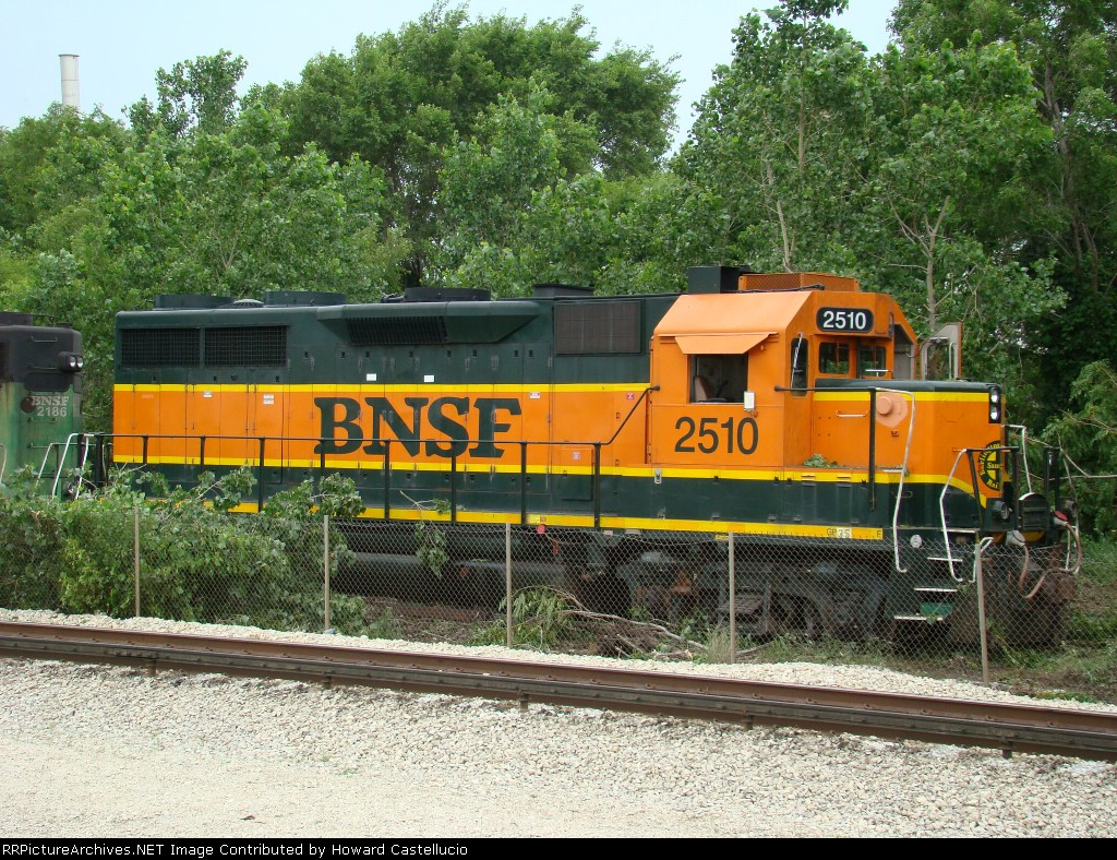 BN 2510 in the dirt