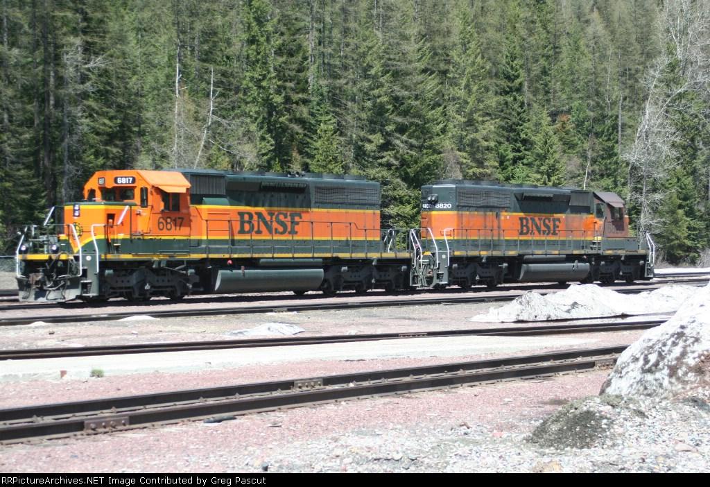 BNSF 6817