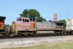 BNSF 934 is faded to pale pink
