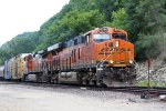 BNSF 6705 leads an eastbound manifest