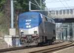 Amtrak Light Engine Move