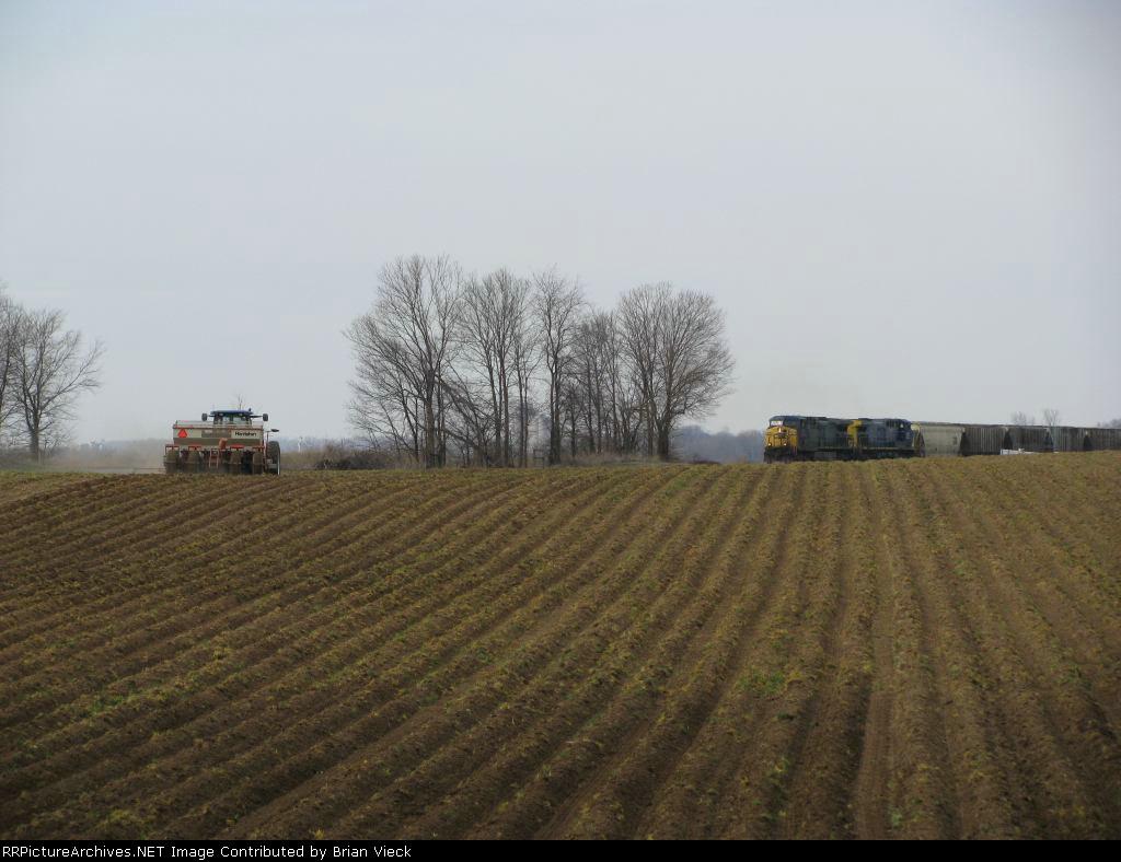Southbound Grain Train #1