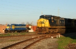 NB CSX train going by HOG power