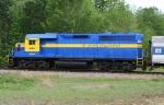HOG 1540 pushing SAM excursion train