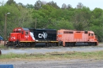 Ex CN and ex CSX pumpkin now working for HOG