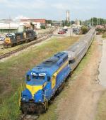 CSX yard power and SAM excusion train