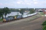 CSX 7890 on SB freight