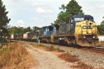 C40-8W leads ballast train south