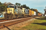Tired SD40-2 heads local south