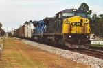 ex-Conrail C40-8W southbound