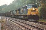 CSX Coal train cruises north
