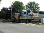 CSX 4401 with a local