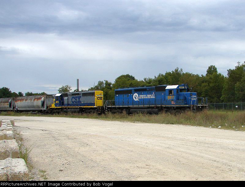 CSX 8817 and 8815