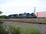 CSX 2812 and 4406