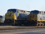 CSX 383, looks like a hand drawn number board...