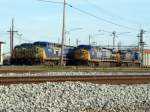 CSX 4752, 7915, 7650, 270 & 5346 in Howell Yard