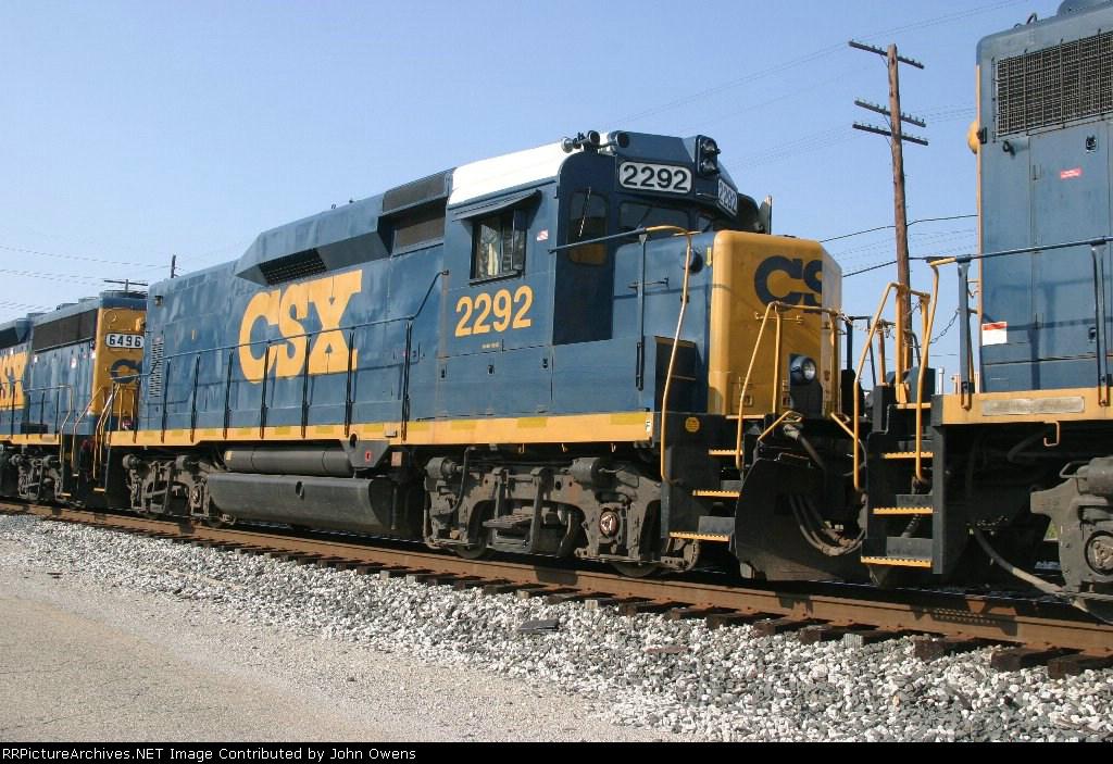 CSX 2292/CSXT Y129