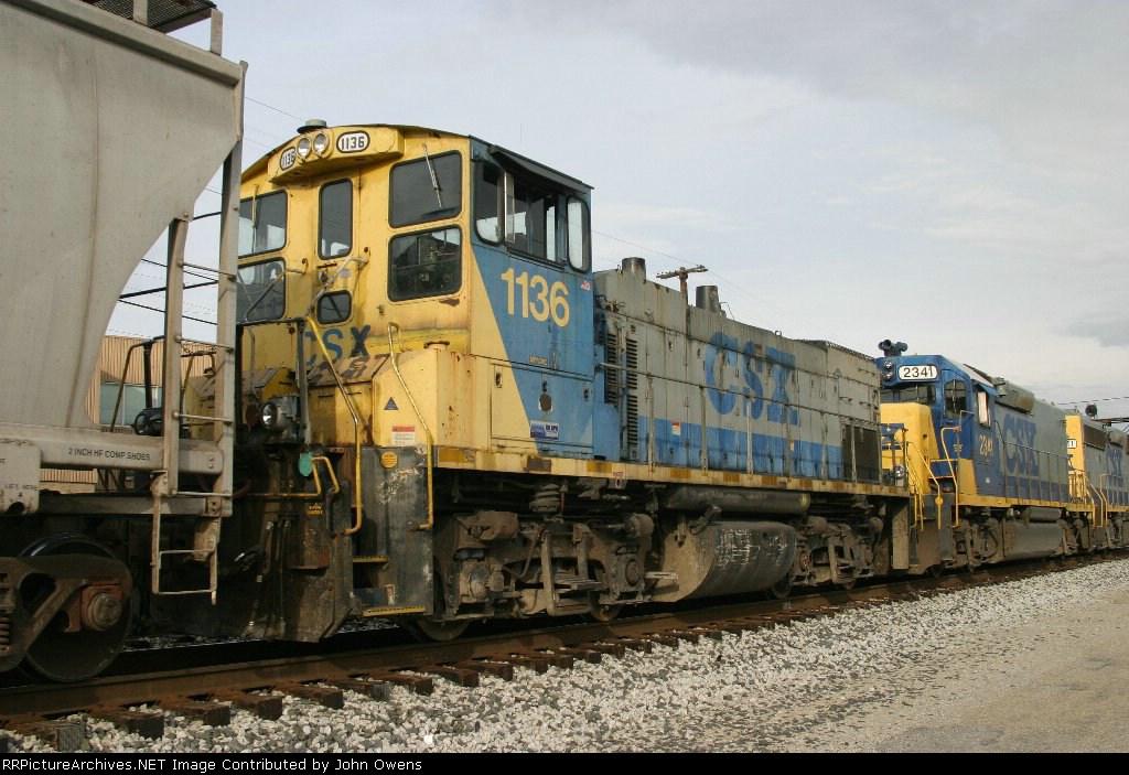 CSX 1136/CSXT Y129