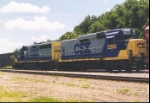CSX 2292 at Wildwood FL