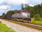 K974 in Longwood siding with EMDX 7012