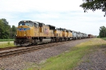 UP 3963, UPY 1398, UP 3377, GCFX 3086, GCFX 3084, GCFX 3094, GCFX 3096, & GCFX 3083.