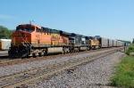 BNSF 5820, NS 9113, & UP 4230