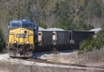 CSX 117 with K913-24 Negotiates the wye, and heads for Gainesville.