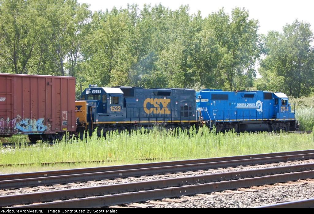 CSX 2730 & 1522