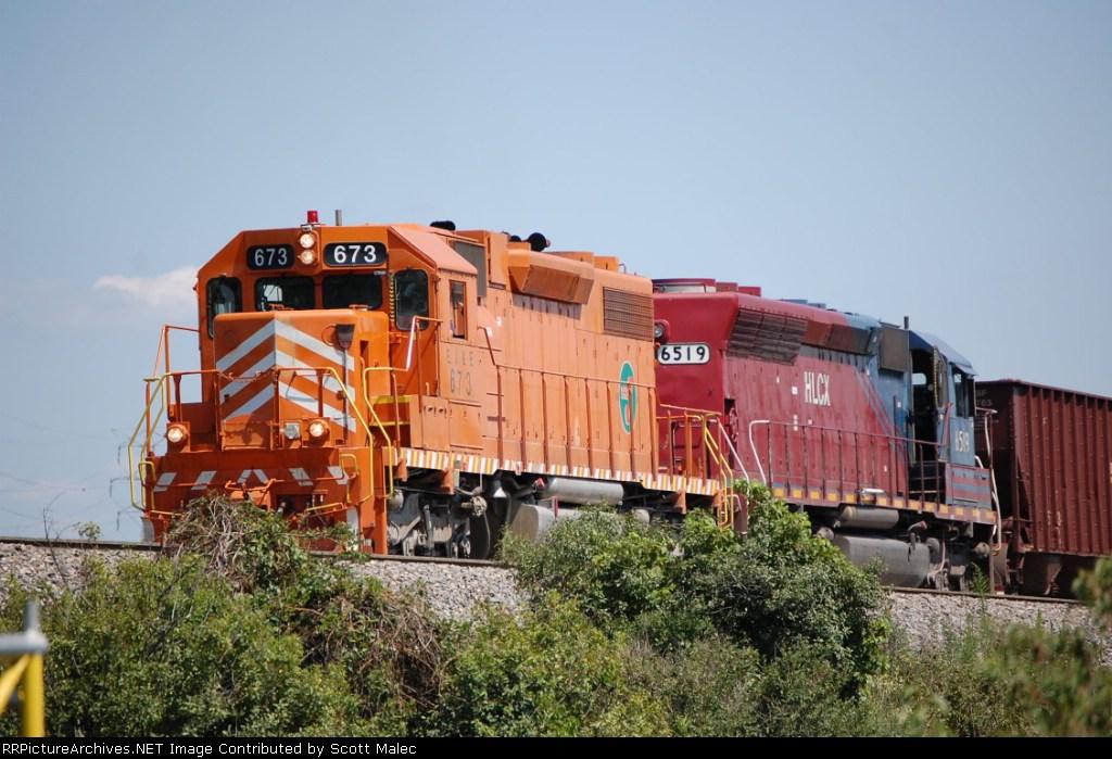EJE 673 & HLCX 6519