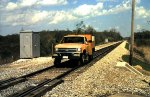 Conrail Hi Rail Truck on the Youngstown Line.