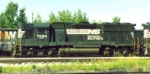 NS GP-50 #7064 at west end of Conneaut OH Yard 1994