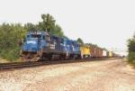 Conrail GP38-2 8259 at CP 130 1994