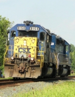 Westbound CSX Light Engine Movement