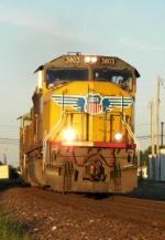 Southbound UP Work Train
