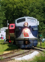 Southbound Monticello Railway Museum Train