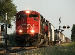 Northbound CN Manifest